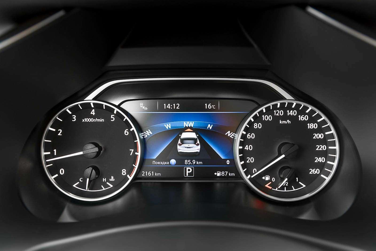 Оператив ЗР: первый тест-драйв кроссовера Nissan Murano— фото 610740