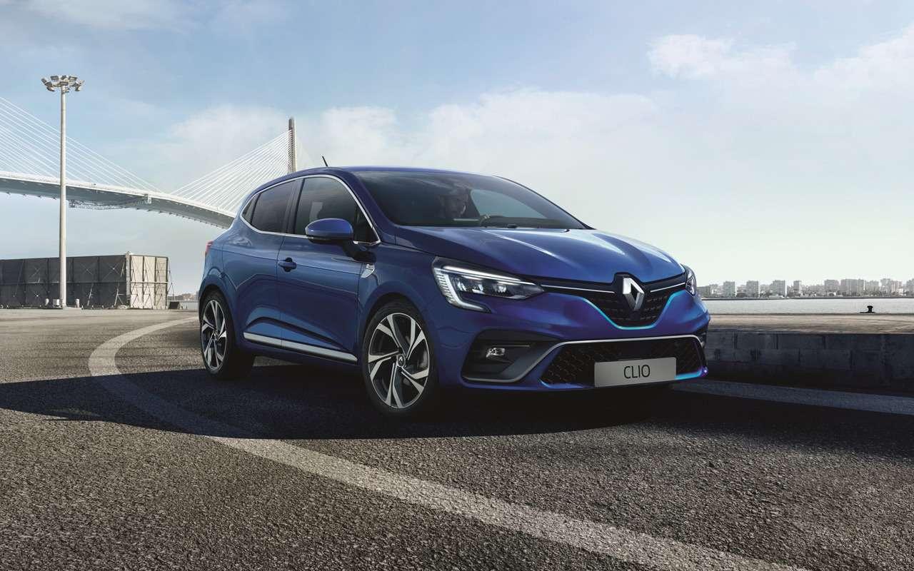 Рассекречена внешность нового Renault Clio— фото 944274