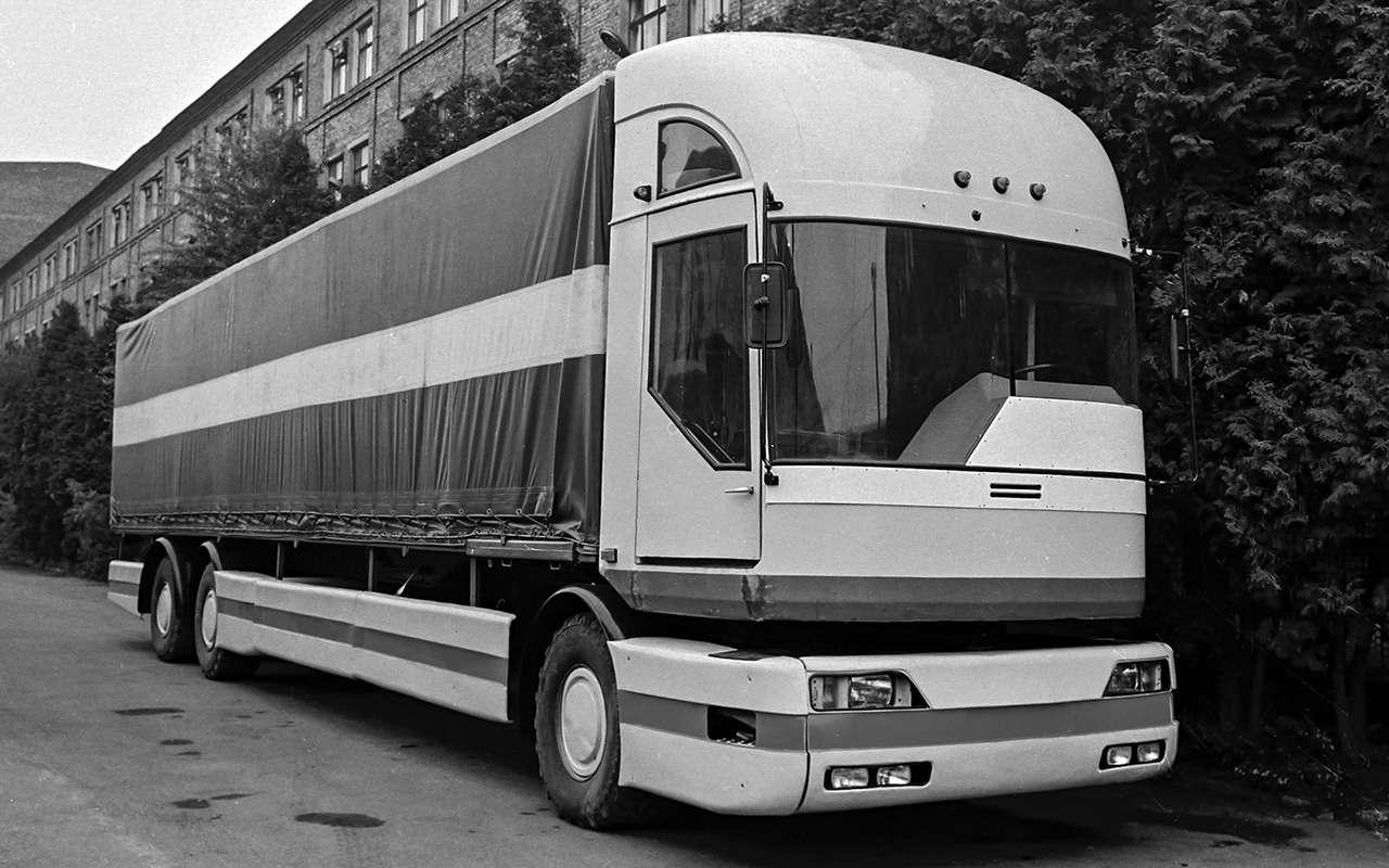 Концепты перестройки: эх, каких грузовиков неувидели!— фото 1221008