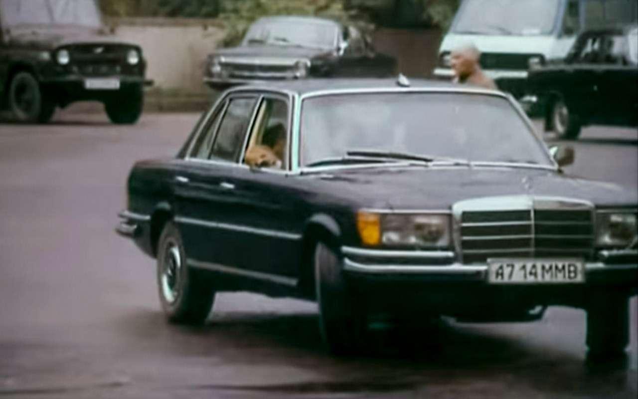 Машина Высоцкого, Карпова иБрежнева: первый вистории S-класс— фото 1210009