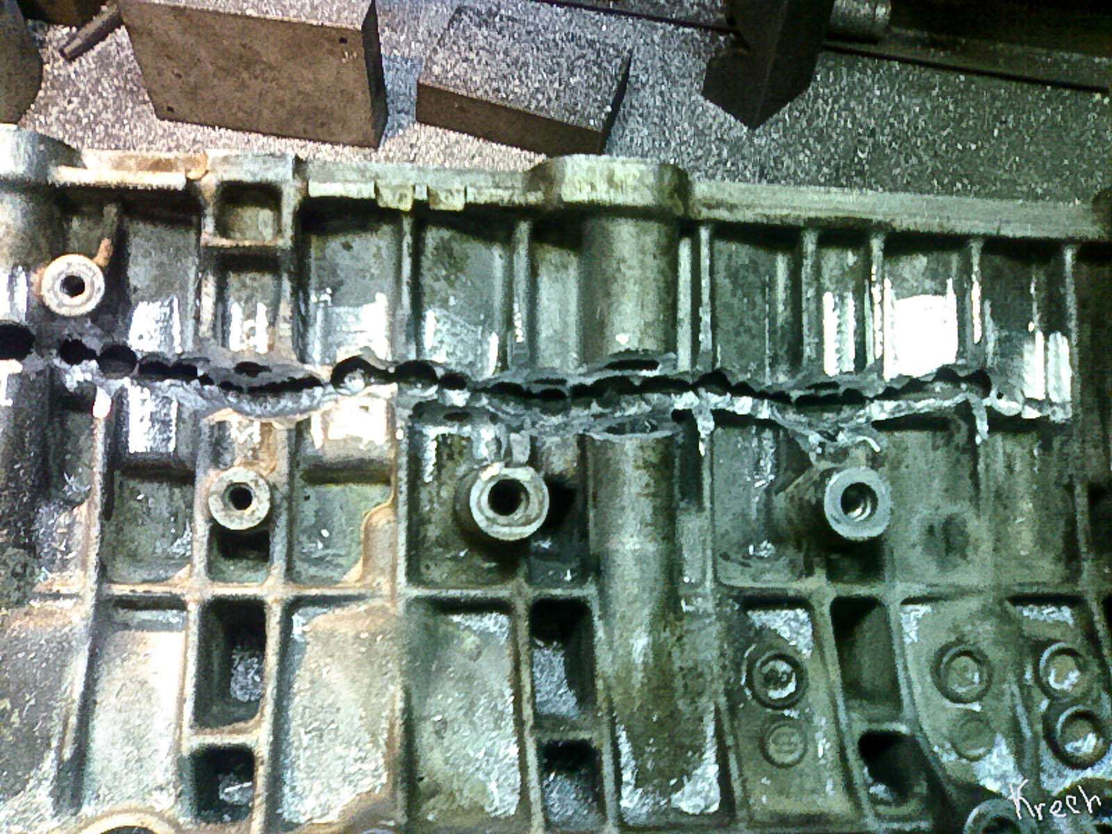 Каквосстанавливают двигатели спомощью сварки— фото 613420