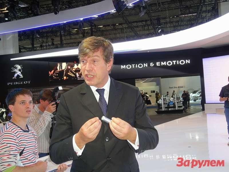 Винсент Рамбо, генеральный директор «Автомобили Пежо»