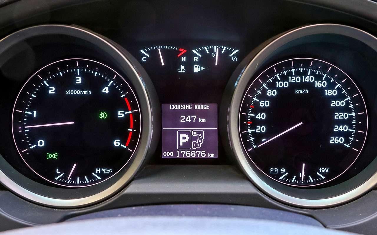 Новый УАЗ Патриот или 10-летний Land Cruiser 200: тест-драйв— фото 1058443