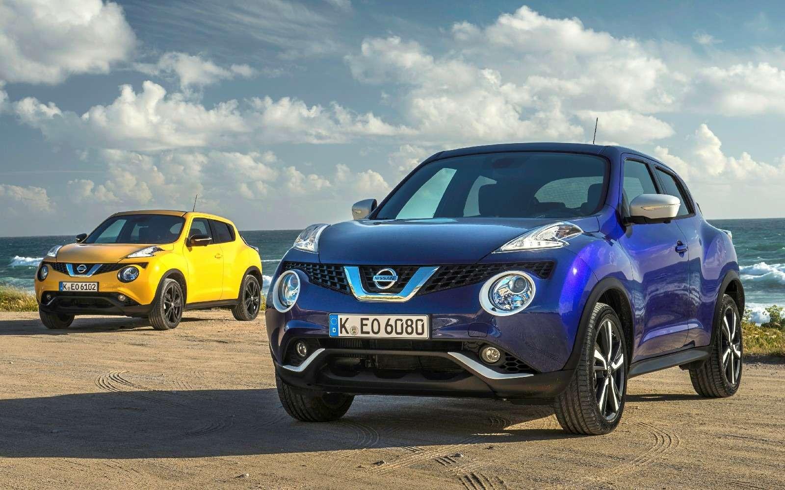 Nissan Juke вернулся вРоссию. Цена вряд лиобрадует— фото 771425