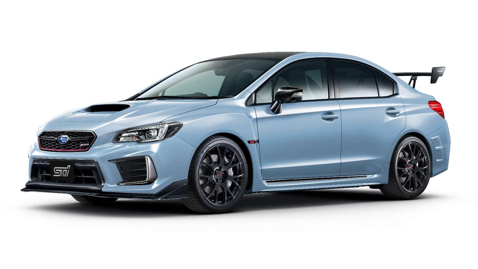 Subaru прощается сWRX STI— представлена финальная спецсерия— фото 812549