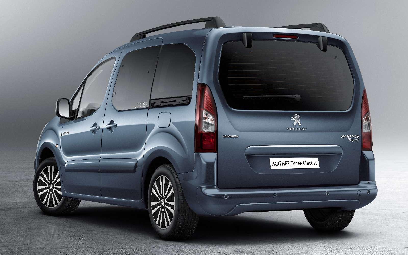 Peugeot Partner Tepee Electric: поездка будет недолгой— фото 708827