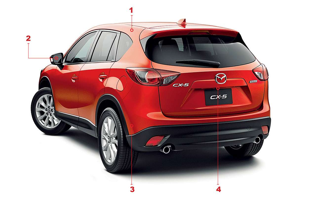Mazda CX-5с пробегом: все проблемы кроссовера— фото 950122