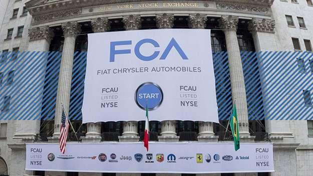 Fiat Chrysler ищет партнеров длясовместного выпуска автомобилей