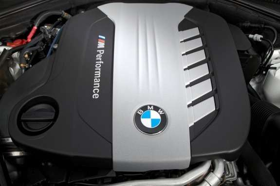 BMW M Performance diesel engine