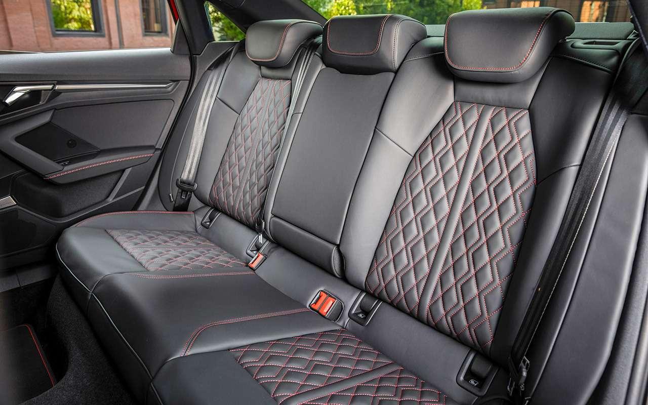 Новый Audi A3: вам седан или Sportback?— фото 1272062