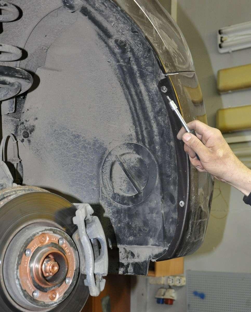 Lada Vesta: проверка изамена ремня привода вспомогательных агрегатов— фото 568368