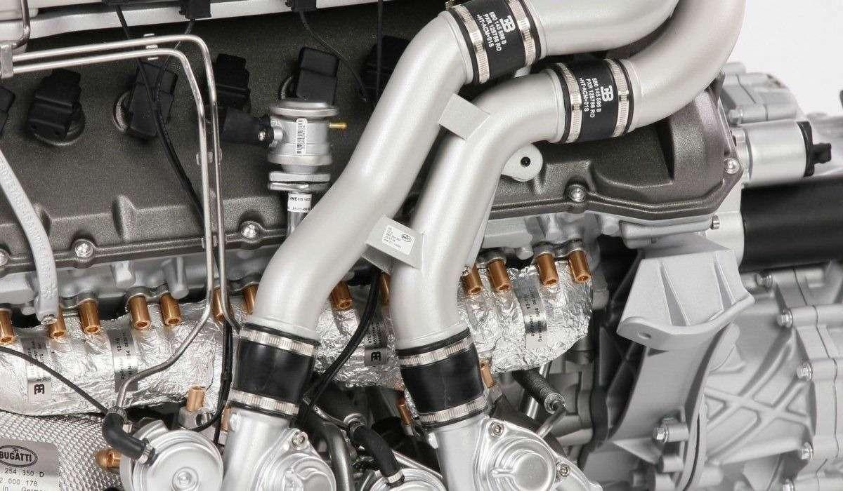 Двигатель Bugatti Chiron оценили в9365 долларов. Неработающий ималенький— фото 807237