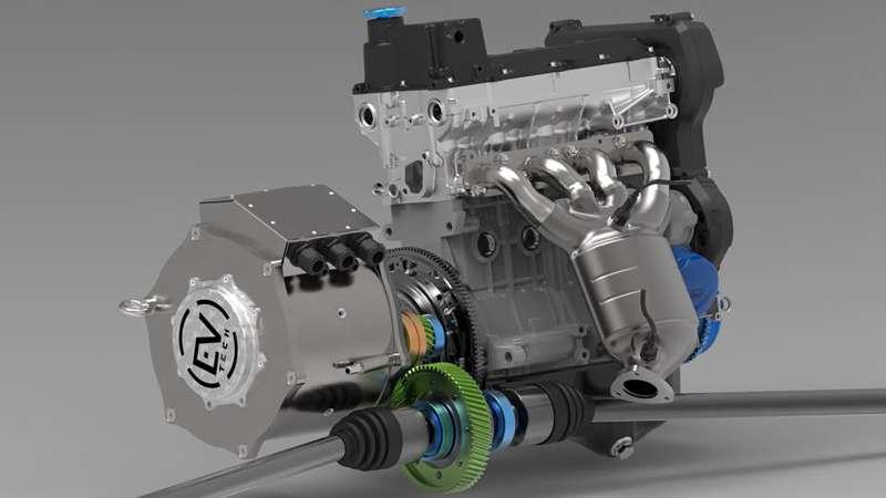 В РФ разработали мотор для гибридных машин