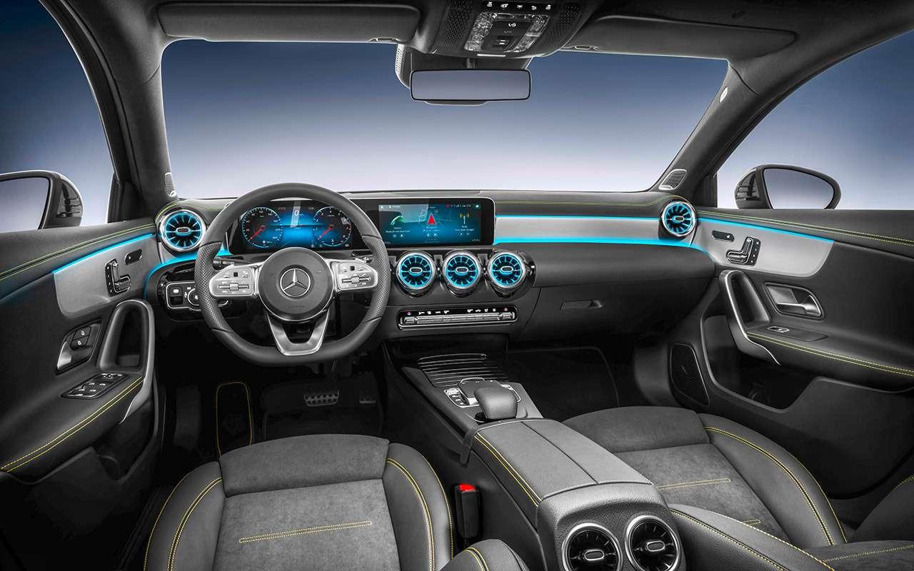 Новый Mercedes-Benz А-класса— первая встреча— фото 853343