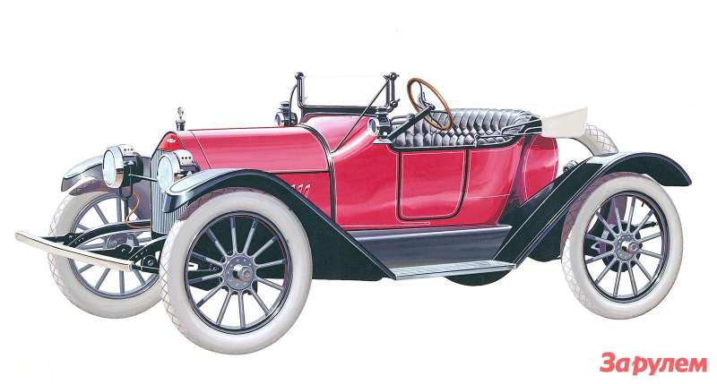 1914 Chevrolet Royal Mail Roadster