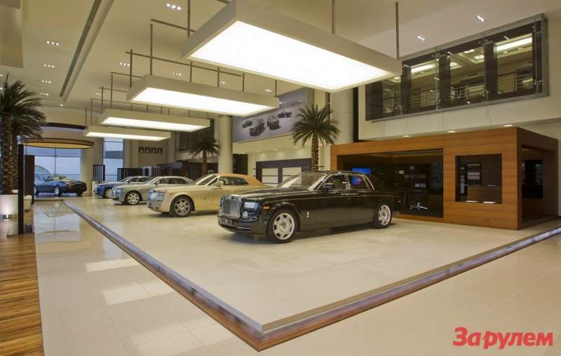 Largest Rolls-Royce Showroom inthe World Opens inAbu Dhabi