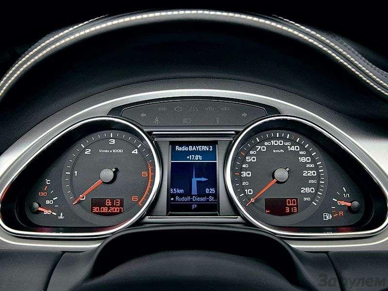 Высший класс Audi Q7V12TDI Quattro: Всё, кроме скромности— фото 91357