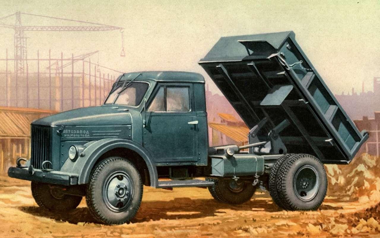 Свой парень: ретротест грузовика  ГАЗ-51— фото 845828
