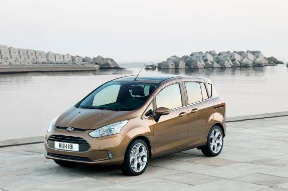 Ford B-Max side-front view