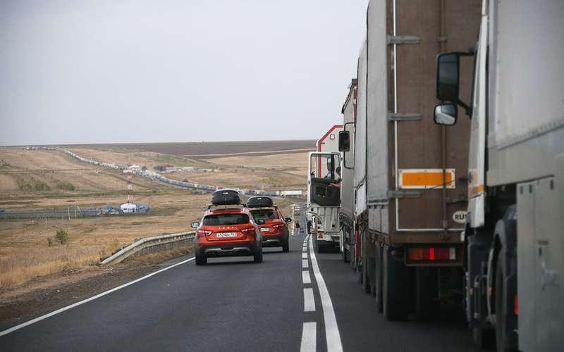 Автопробег «Зарулем», день 2-й: отКазани доКазахстана