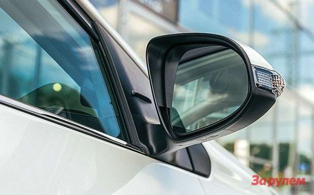 Toyota Corolla зеркала