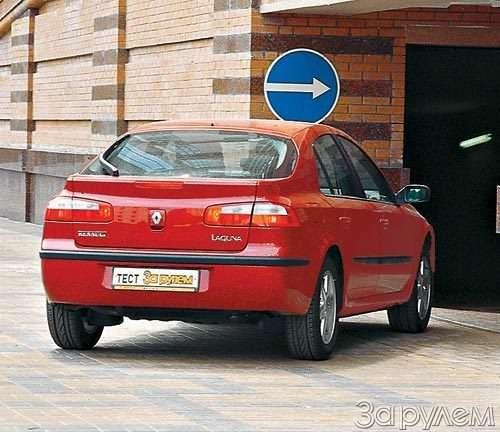 Тест Nissan Primera, Renault Laguna. Пробы нафотогеничность.— фото 29419