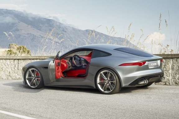 Jaguar C-X16 Concept side-rear view