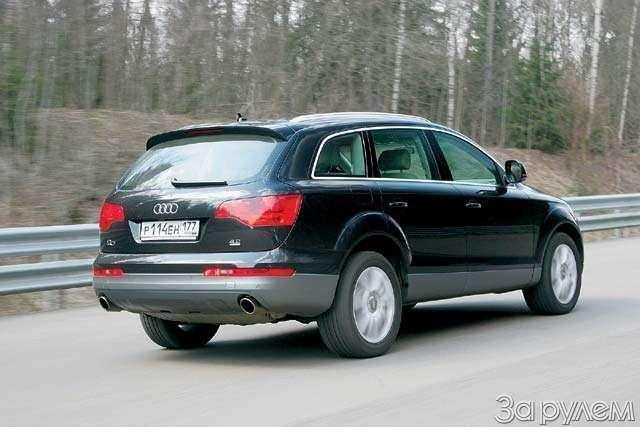 Тест Audi Q7BMW X5. ТЯЖЕЛАЯ АТЛЕТИКА— фото 65155