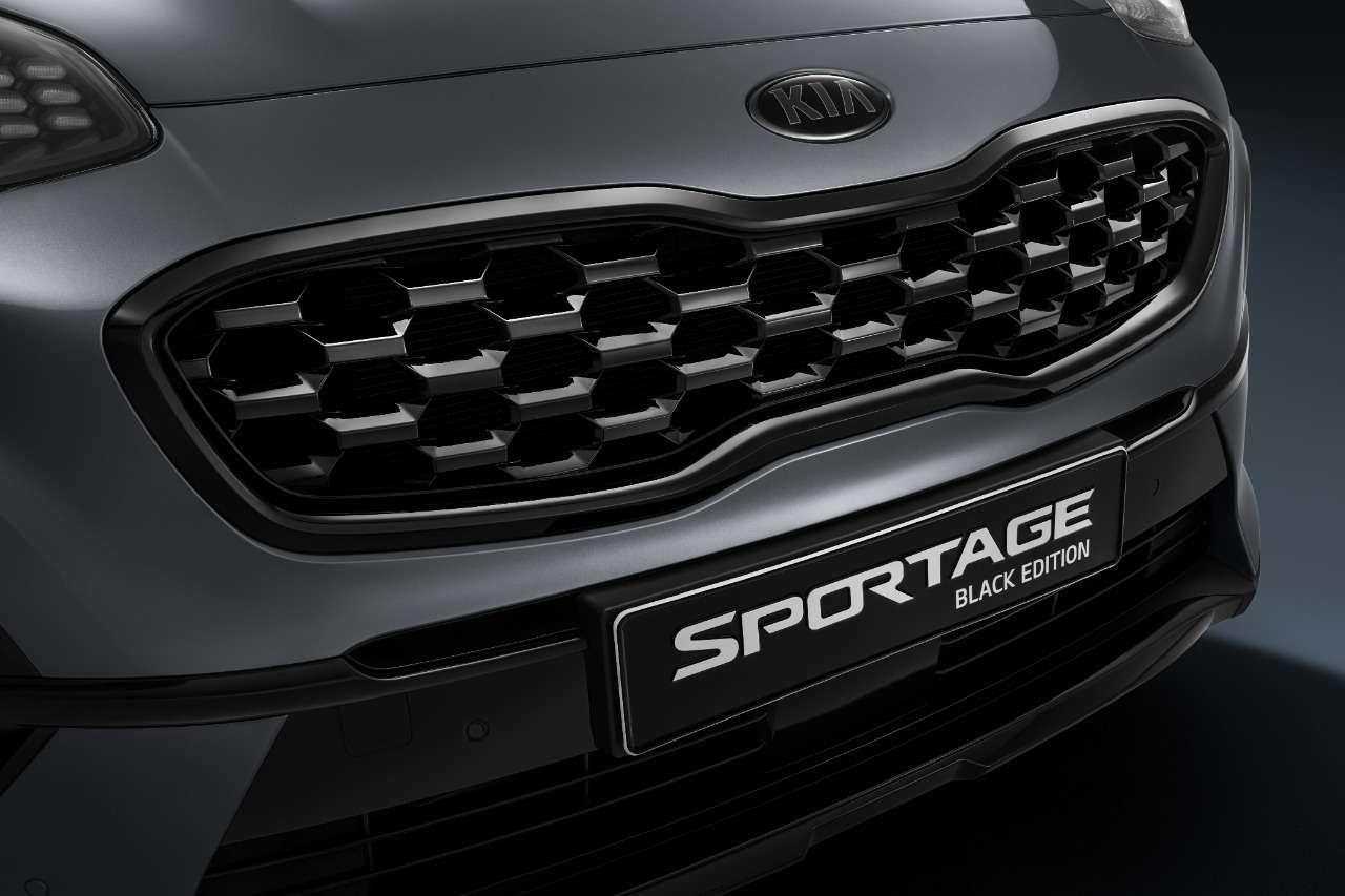«Черная» версия Kia Sportage— продажи начались— фото 1220419