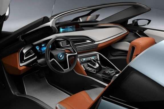 BMWi8Spyder Concept inside 2