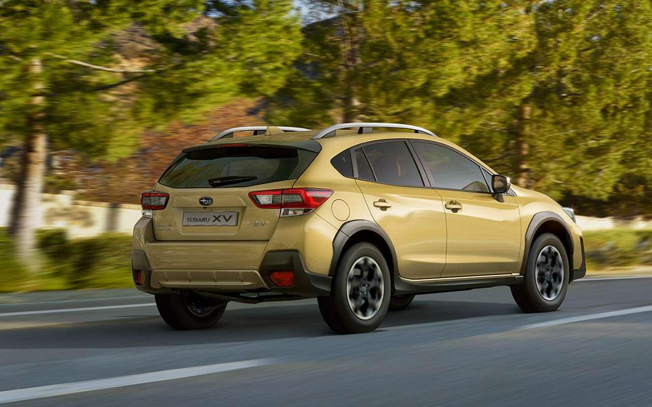 Названы цены наобновленный Subaru XV— фото 1227903