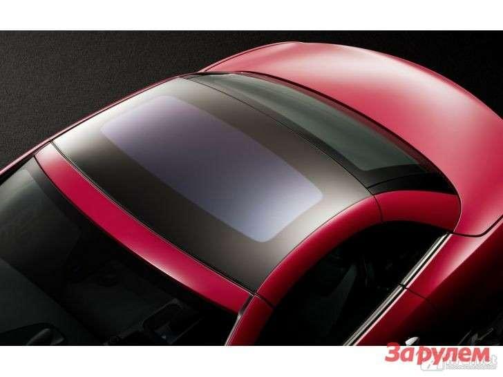 Прозрачная крыша Mercedes SLK