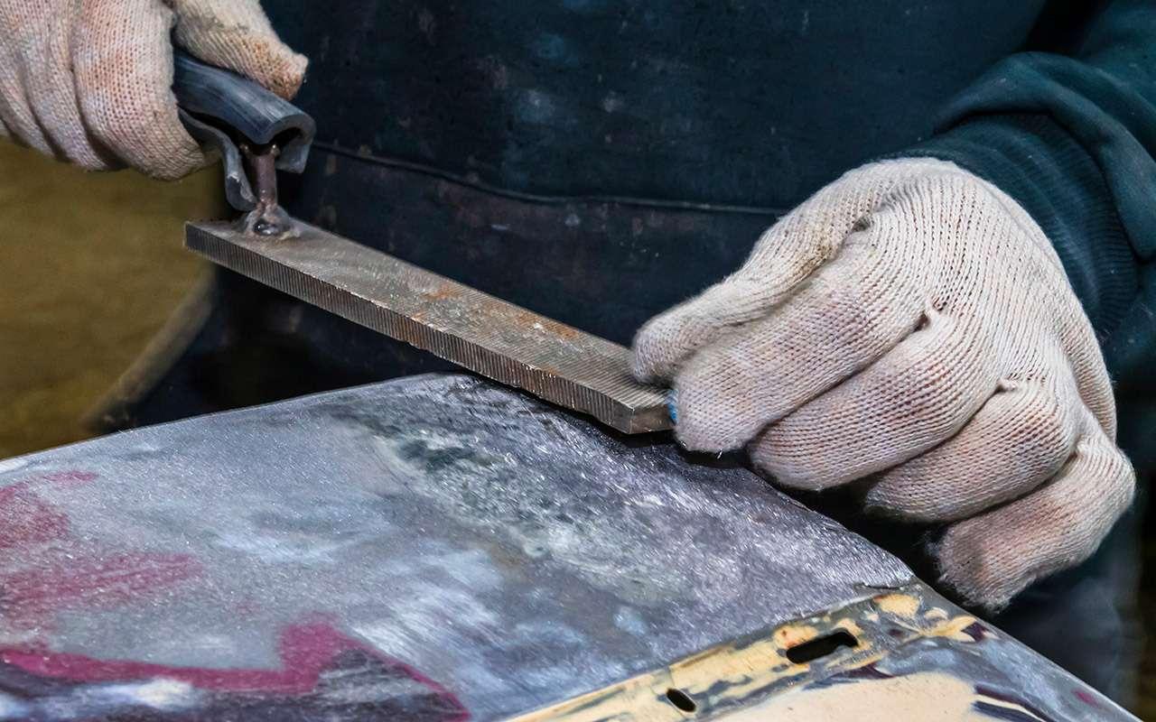 Каксэкономить накузовном ремонте— полузабытый способ— фото 964539