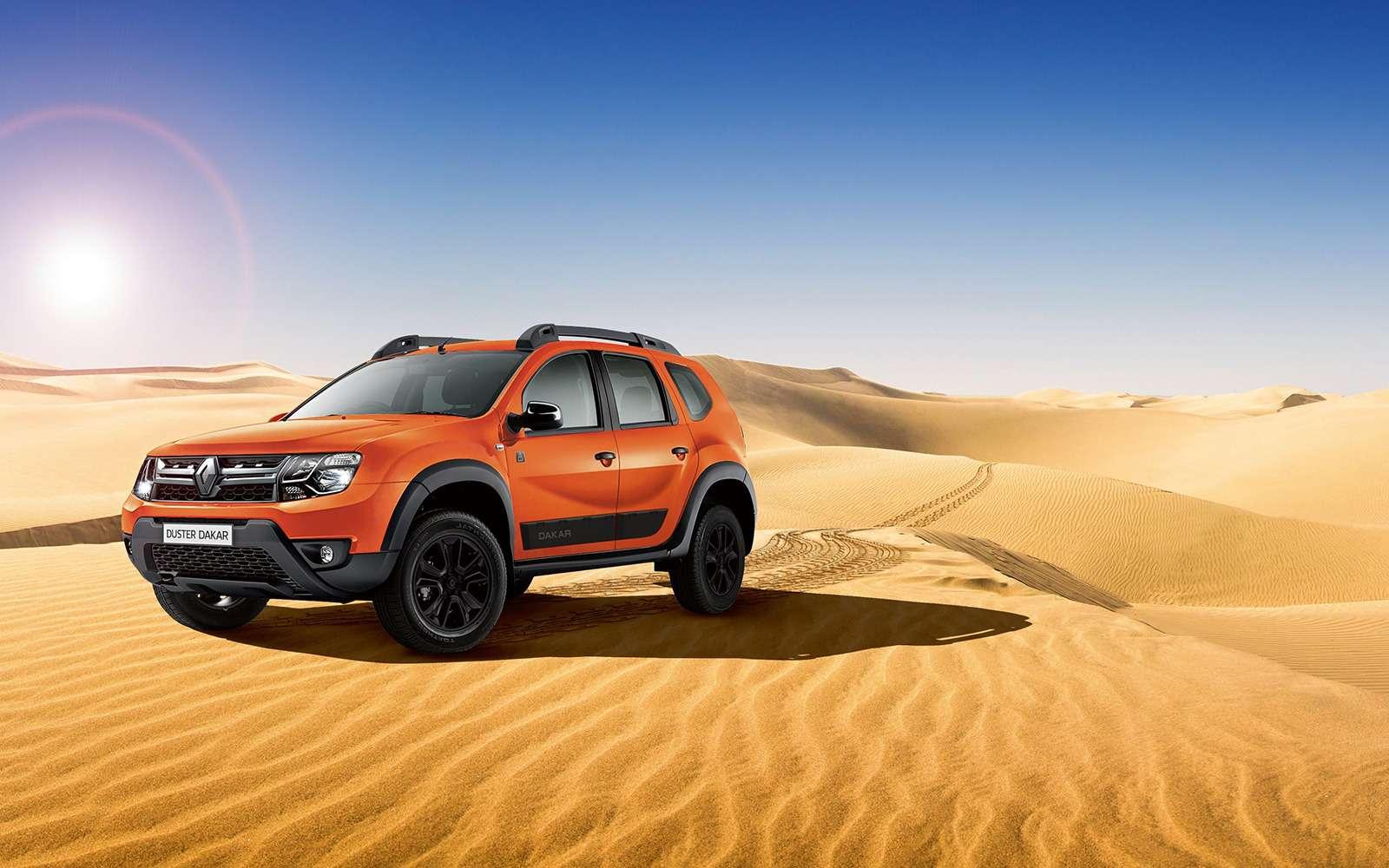 Renault Duster получил вРоссии спецсерию— фото 865771