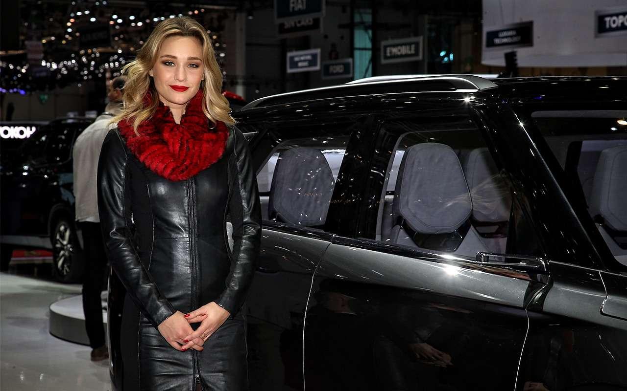 Самые красивые девушки Женевского автосалона— фото 851220