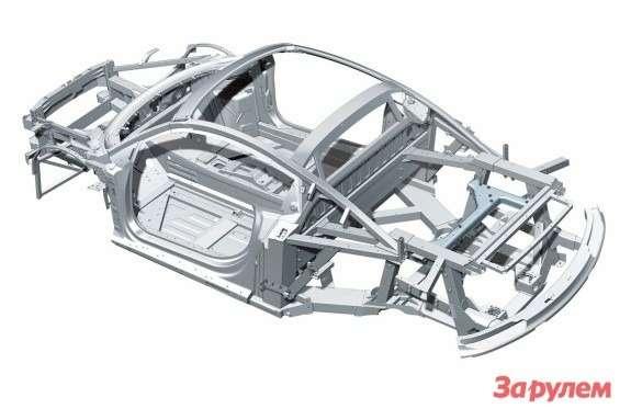 Audi R8body structure