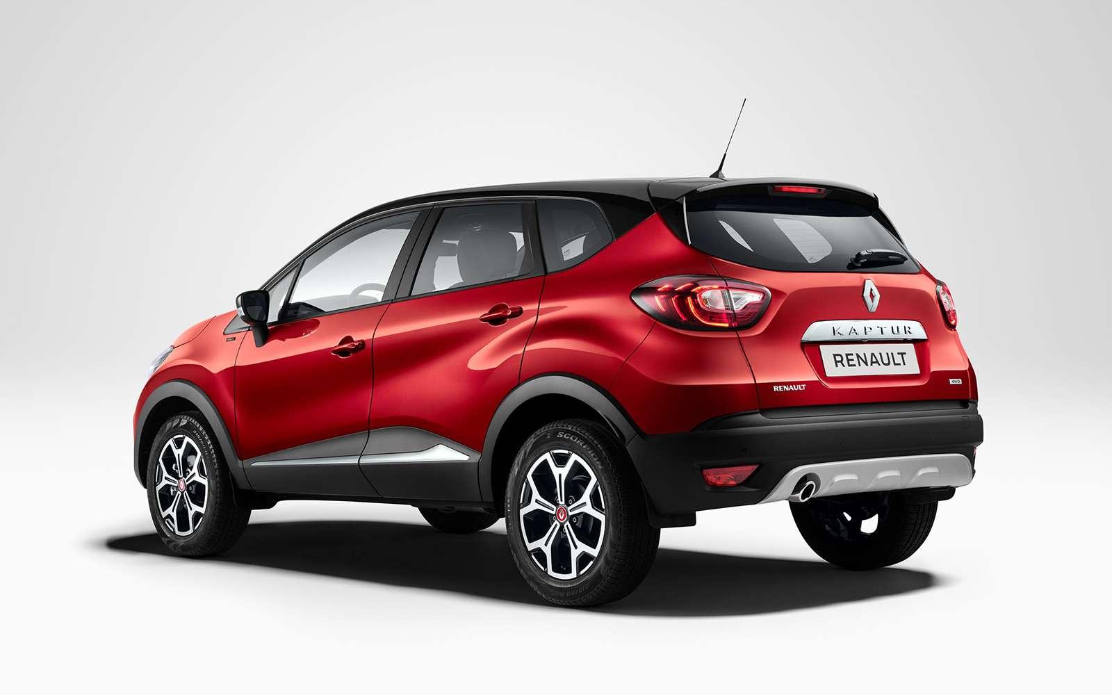 Renault Kaptur получил новую версию. Теперь сЯндекс.Авто иоплаченным интернетом— фото 887448