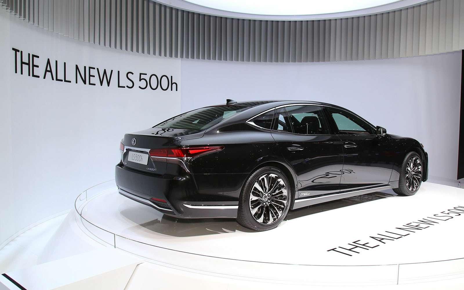 Новый Lexus LSпредстал вЖеневе вгибридном исполнении 500h— фото 718407