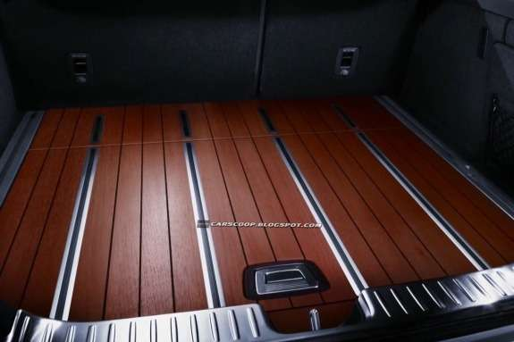 Mercedes-Benz CLS 63AMG Shooting Brake luggage compartment