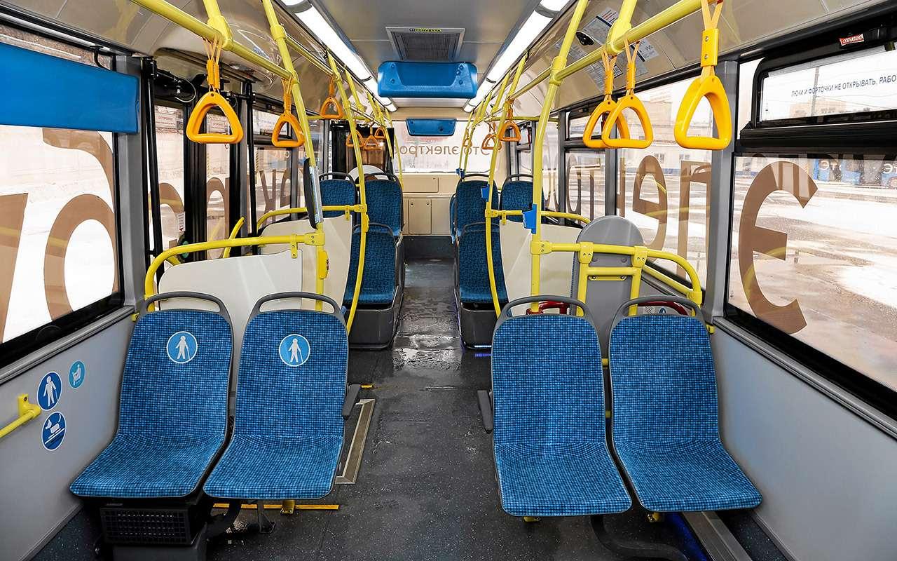 Электробус столицы: онможет проехать 59км. Ноэто нормально— фото 1088772