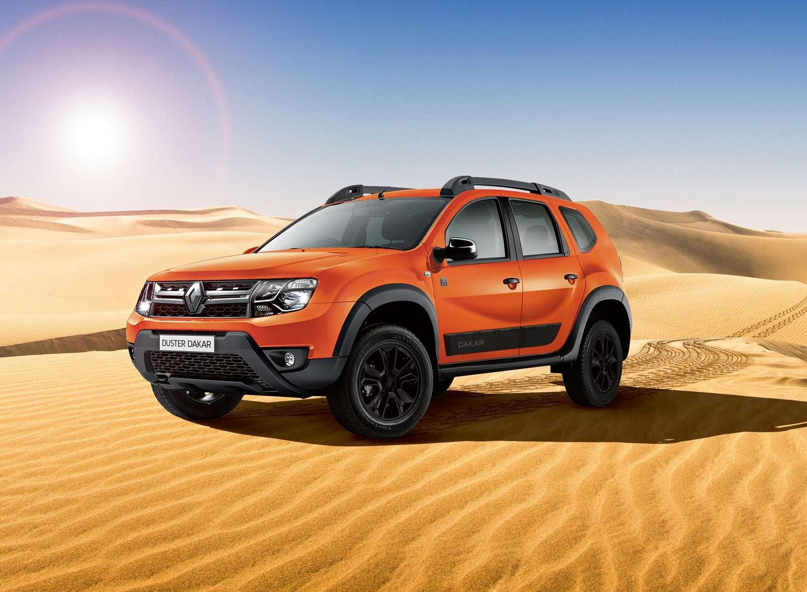 Обновленная спецсерия Renault Duster Dakar— уже вавтосалонах— фото 871370