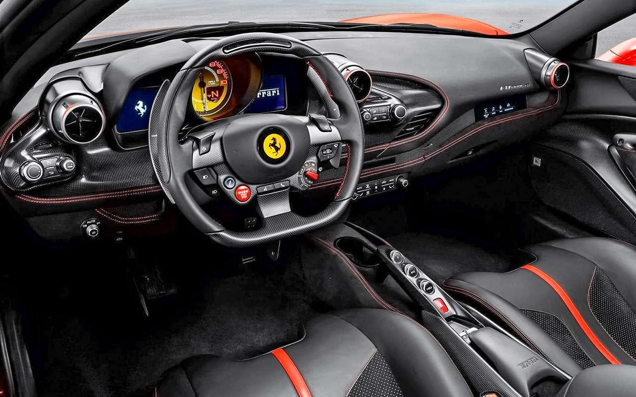 16, 17,5, 19,4 миллиона— новинки Ferrari вРоссии— фото 1205142