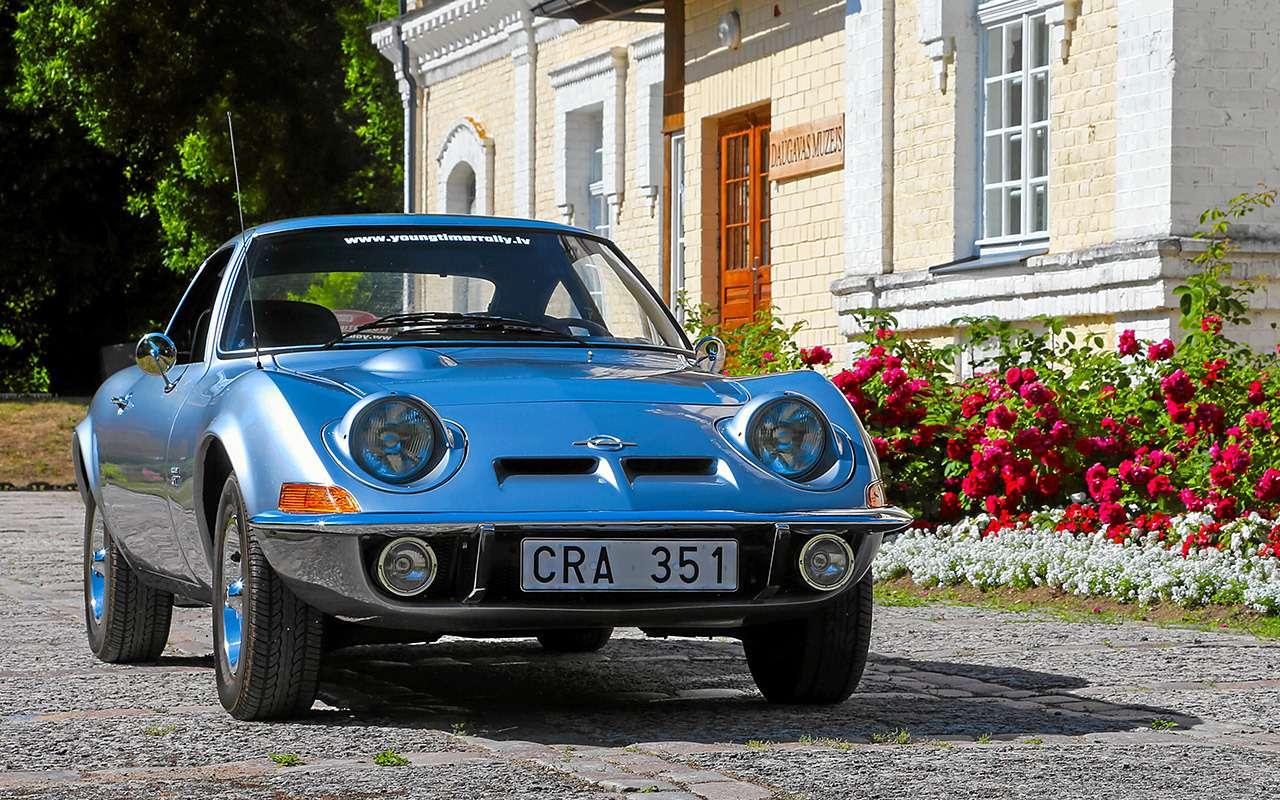 Когда-то Opel делал задорные машины...— тест 50лет спустя— фото 1059025