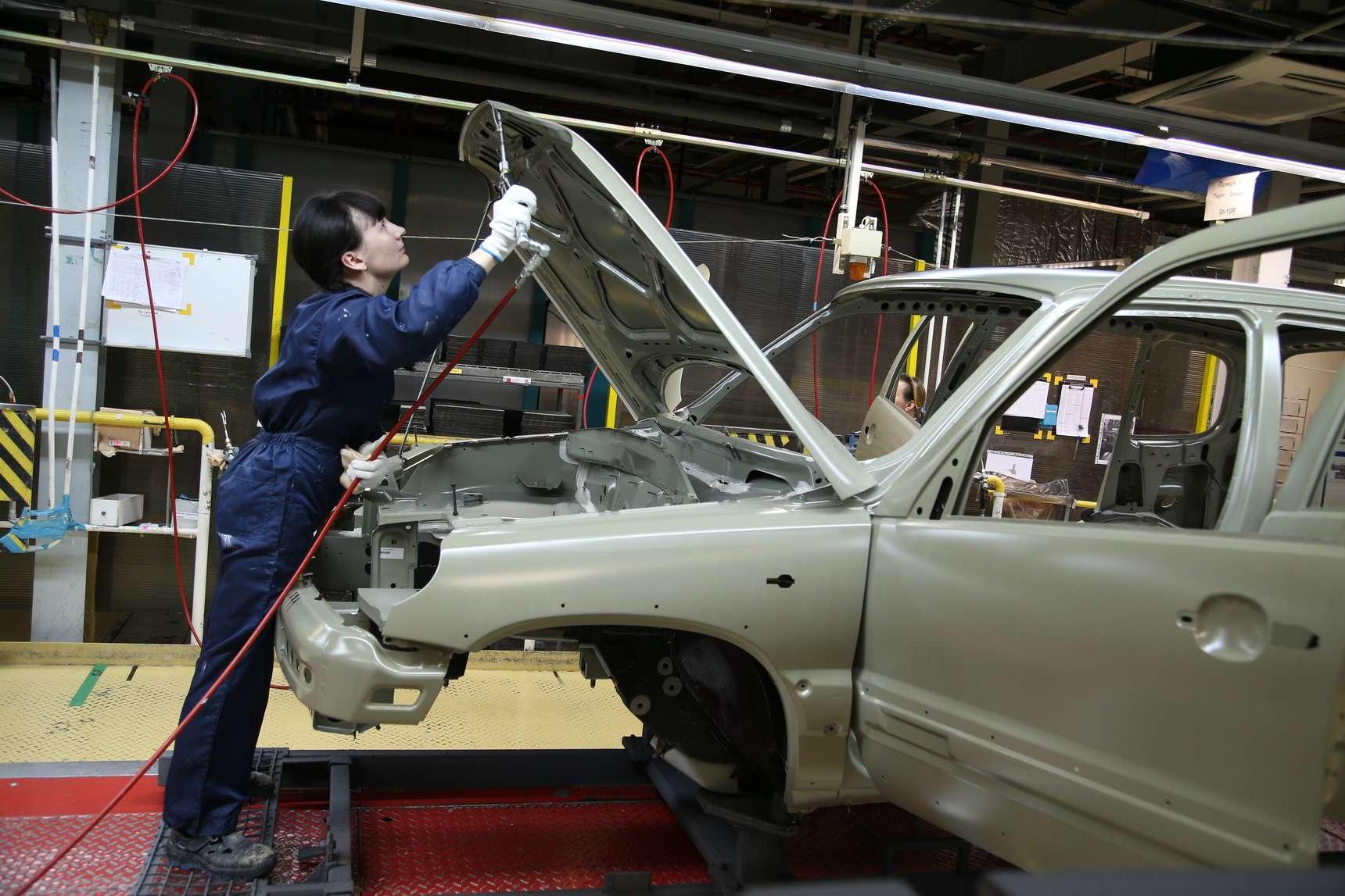 Каккрасят Chevrolet Niva: самый секретный цех СПGM-АВТОВАЗ— фото 582258