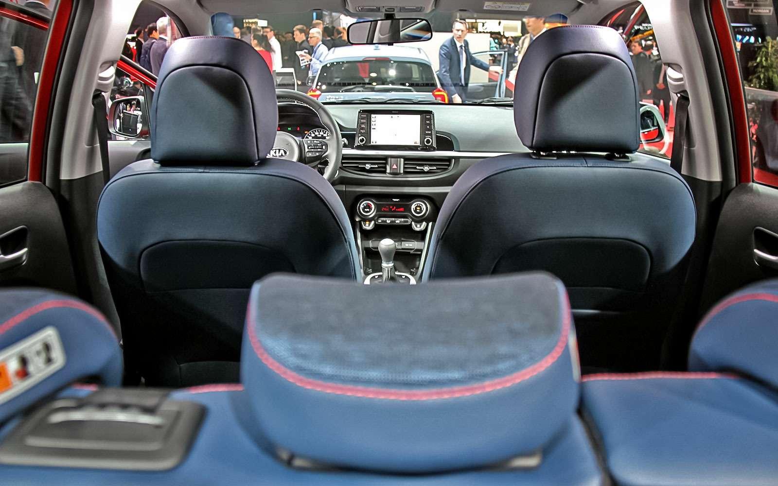 Новая Kia Picanto: вРоссии— летом— фото 717404