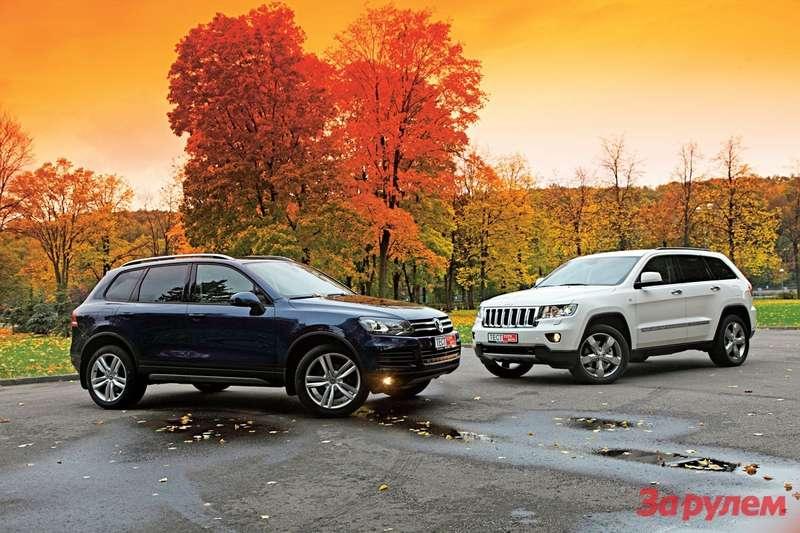 Jeep Grand Cherokee Protiv Volkswagen Touareg Zhurnal Za Rulem