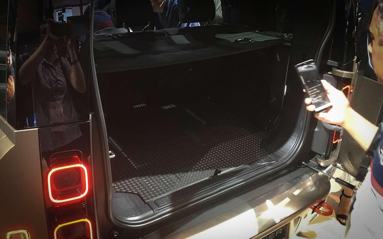 Новый Land Rover Defender: онбольше нерамный!— фото 995252