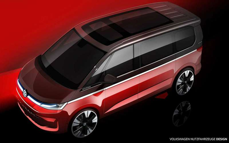 VWMultivan T7— новые подробности