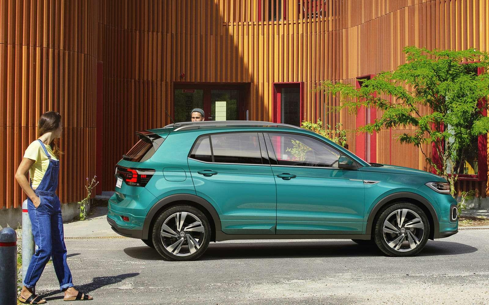 Новый кроссовер Volkswagen: онпоявится вРоссии!— фото 918207