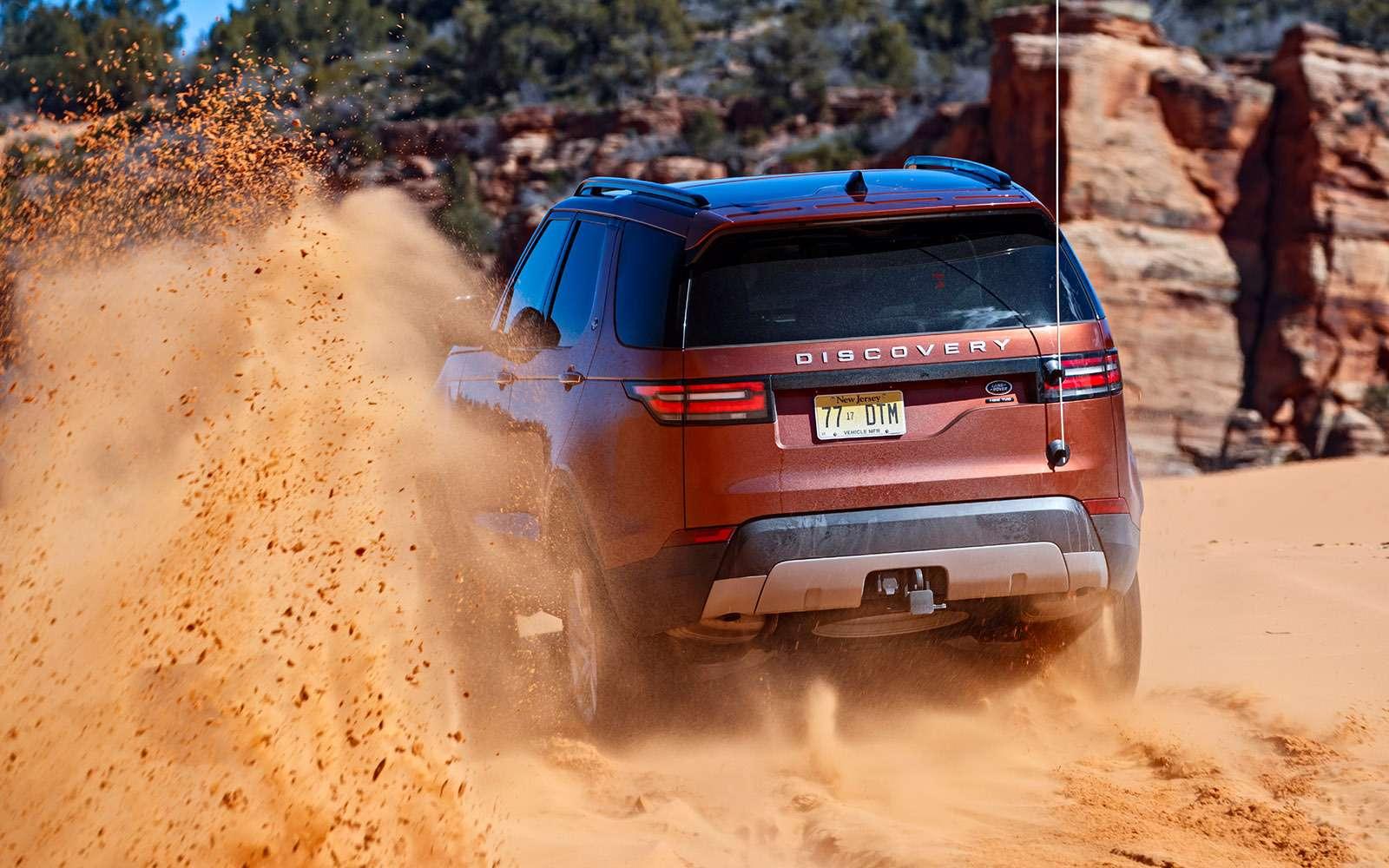 Новый Land Rover Discovery: первый тест— фото 736873